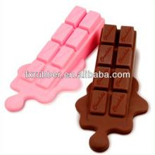 Chocolate bar shaped silicone rubber door stopper
