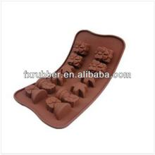 Easter Rabbit Egg Silicone Chocolate Mould Cake Baking Molds Biscuit Jelly