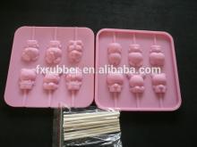 Three-dimensional cartoon lollipop mould