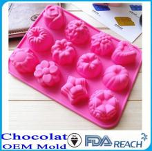 MFG Various shape silicone chocolate molds silicone  rubber  egg  ring