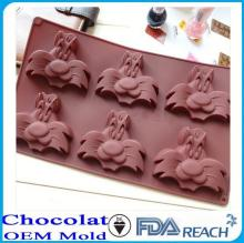 MFG Various shape silicone chocolate molds plastic egg ring