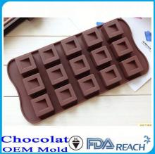 MFG Various shape silicone chocolate molds shaped egg rings