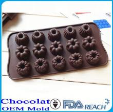 MFG Various shape silicone chocolate molds mold egg ring