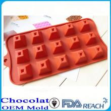 MFG Various shape silicone chocolate molds candy mould  cake  decorate  push  mold