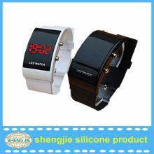 electronic binary chewing gum watch