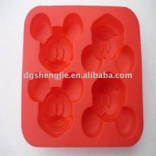 Beautiful mickey silicone cake decoration tools mold
