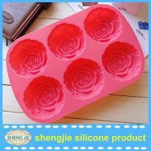 New rose shape cake decorating tools cake decoration chocolate mold for kids