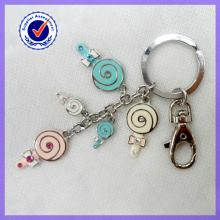 Giveaway Products Enamel Lollipop Keychain #15592