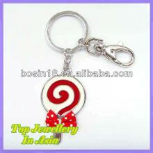 Mouth-watering Lollipop Candy Keychain Enamel Keychain #15671