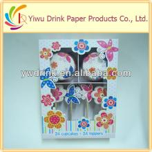 New Design Paper Popular High Quality Kids Decorating Cup Cake Cake Decorating Set