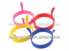 Latest cute FDA&LFGB Standard silicone egg fry ring