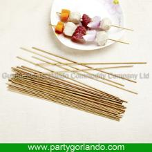 Newest customized marshmallow bamboo skewers