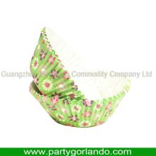 china supplier 55mm decoration cupcake wrapper greaseproof cup cake decorations