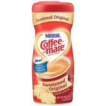 Coffee -Mate  Coffee   Creamer  Sweetened 15 oz 6 Packs (50000-52517)