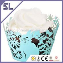Laser Cutting Paper  Cupcake   Cup s Wrappers for Cake Decorative