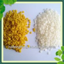 Pure white/yellow beewax granules from the natural beeswax