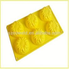 Alibaba China cutter Cookie silicone cake mold cheapest price hot sales cake decoration silicone mol