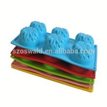 Alibaba China cutter Cookie silicone cake mold cheapest price hot sales silicone cake decorating mol