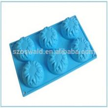 Alibaba China cutter Cookie silicone cake mold cheapest price hot sales silicone rose cake decoratin