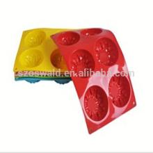 Alibaba China  cutter   Cookie  silicone cake mold cheapest price hot sales silicone mold cake decoratin