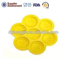 Eco friendly round shape silicone  cup   cake   decoration