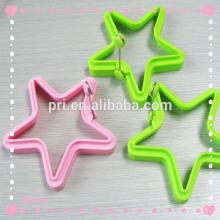 silicone star shape pancake rings cake/chocolate mold