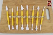 8-pieces modelling tool set, fondant cake decorating tools