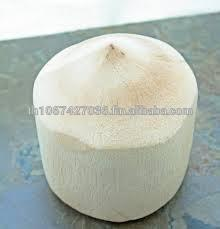 Available Now!!! Organic Fresh Young Coconut, (Diamond Shape ) from Thailand