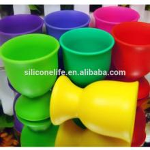 Promotional Eco-friendly food grade red wine cup silicone wine cup