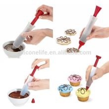 Decorating Silicone Pen,Silicone Cake Decoration Tools
