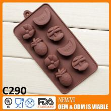China manufacture fruit shaped silicone  cake  mould