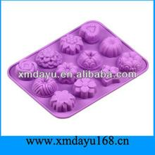 Mold De Silicone Easter Silicon Chocolate Mold With LFGB Standard