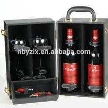 Promotion 2 bottle wine gift box for champagne