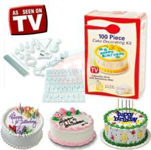 As seen on TV 100pcs cake decorating kit/cake tools /cake sets