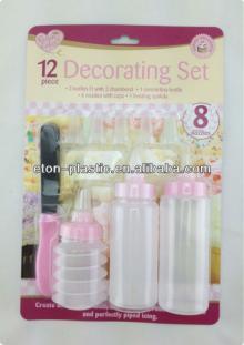Plastic cake decorating tools