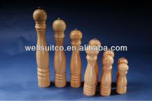 rubber   wood  pepper mill