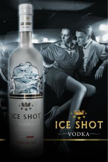 frosted ice shot vodka 750 ml wholesale fancy vodka 14 carat ultra super premium private label 40% a