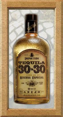 Tequila 30-30 anejo