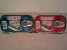 CHELSEA'S SARDINES IN CLUB CANS