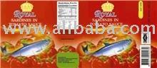 ROYAL Brand Sardines In Tomato Sauce 425g