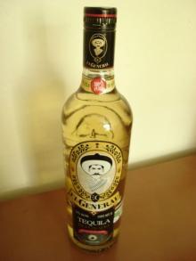 Tequila reposado El General 100% Agave