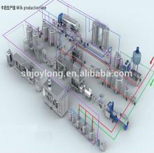 Long Life Complete UHT Milk Processing Plant