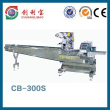 Automatic chocolate bar pillow flow packaging machine for Food bar packaging machine