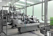 Automatic dairy production line for milk/yogurt
