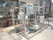 Automatic Juice And Milk Plat UHT Sterilizing Machinery