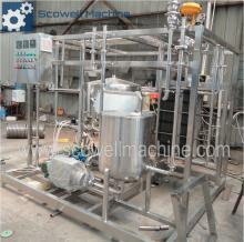 Automatic Juice And Milk Plat UHT Sterilization Machine