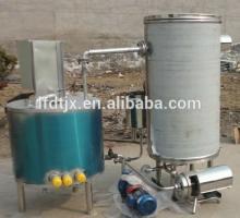 115 Celsius degree UHT Instant sterilizer machine / milk high temperature pasteurizer