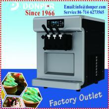 Domestic Countertop Ice Maker : Donper BTK7222 Fluorescent Screen Countertop Soft Ice Cream Machine ...