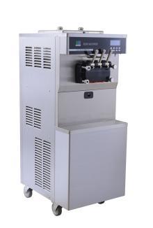 2014 floor Standing 26-30L/h Hand Operate used soft serve ice cream machine