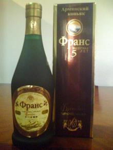 "Armenian brandy ""Frans"""